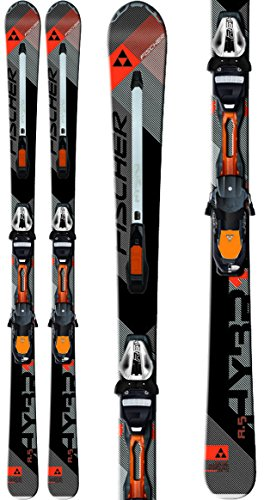 Fischer Hybrid 8.5 Powerrail Skis w/ RSX 12 Powerrail Bindings Mens Sz 175cm by Fischer