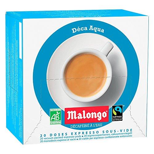 Café Malongo Café Pods Descafeinado, 125 g
