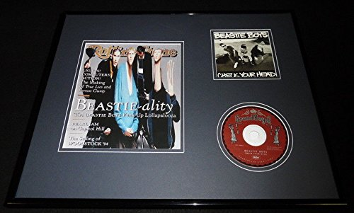 Beastie Boys 16x20 Framed Rolling Stone Cover & Check Your Head CD Set by The Steel City Auctions Gallery