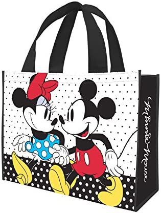 Walt Disney Classic Mickey Mouse Small 2-Sided Recycled Shopper Tote Bag UNUSED