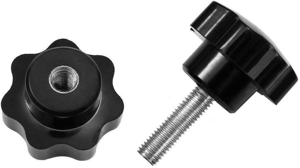 M5x20mm Klemmhebel /& Klemmmutter in 5 Gr/ö/ßen /& 7 L/ängen von M5-M12
