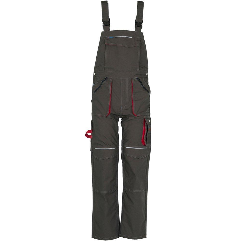 Basalt Arbeitskleidung Latzhose kornblau rot B00I9I4ORK Arbeitshosen Modisch