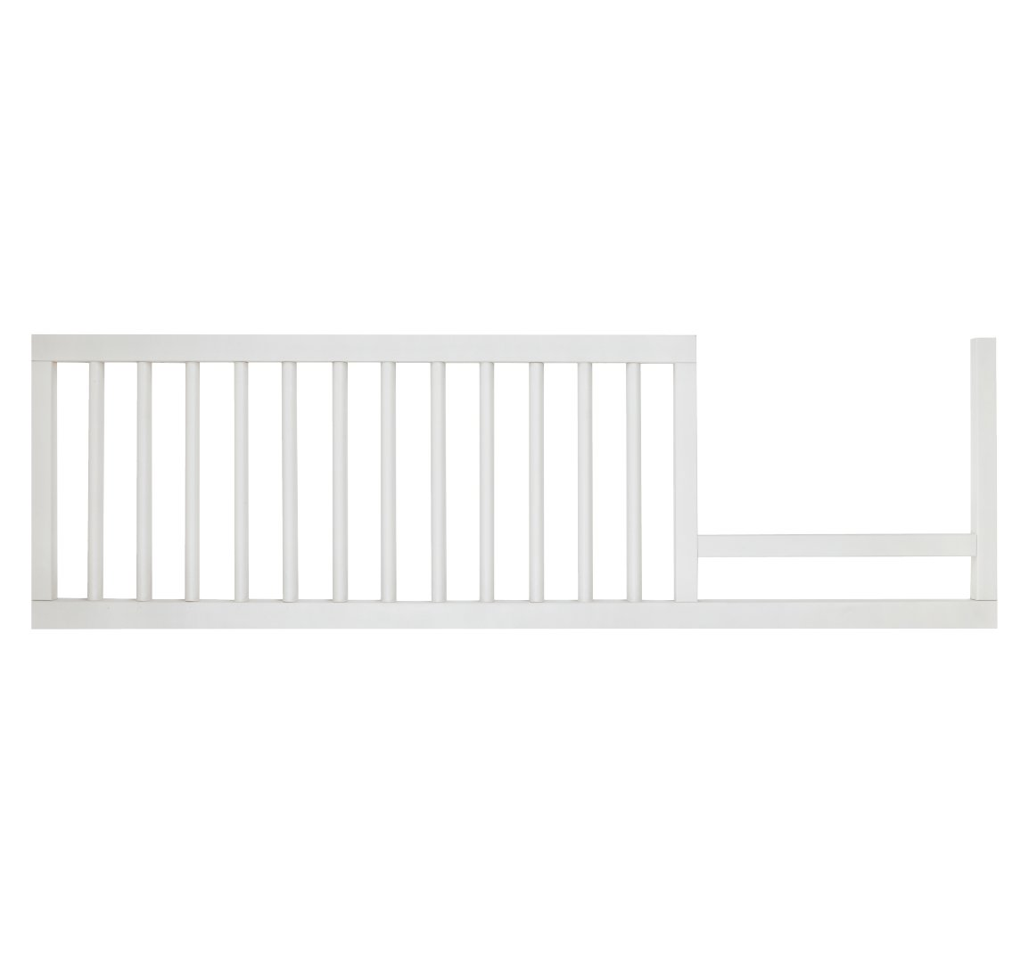 DwellStudio Mid-Century Toddler Bed Conversion Kit, French White