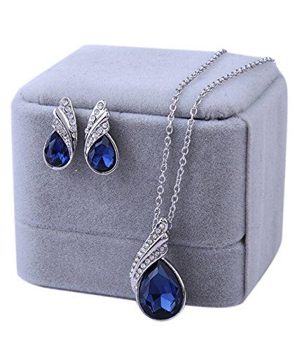 sunbu-angel-wing-crystal-rhinestone-necklace-stud-earrings-jewelry-sets-bridal-engagement