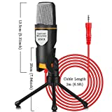 iUKUS PC Microphone with Mic Stand, Professional
