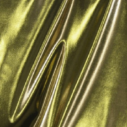 45 Gold/Black Liquid Lame Fabric-17 Yards Wholesale by the Bolt by Fabric Outlet