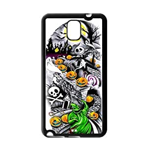 DIY Fashion The Nightmare Before Christmas High Quality Durable Hard Rubber Gel Silicon Case Cover for Samsung Galaxy Note 3 by ruishername
