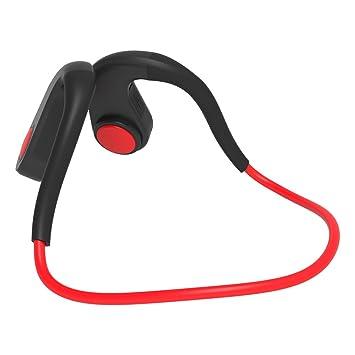 Docooler BT-DK Auriculares inalámbricos Bluetooth Auriculares de conducción ósea Auriculares Deportivos IPX6 Impermeables CVC6.0 Reducción de Ruido Manos ...