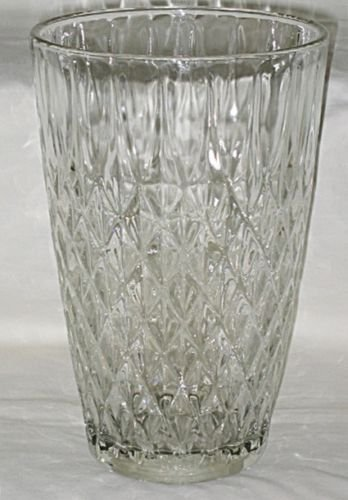 Amazon Anchor Hocking Clear Crown Point Large 10 Tall Heavy
