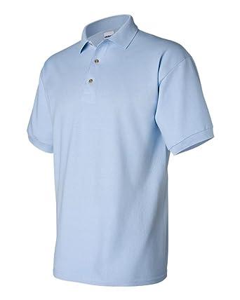 Polos à manches courtes Gildan bleu marine homme p0i44bz