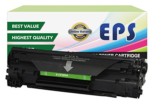 EPS Replacement 83A CF283A Toner for HP LaserJet Pro MFP M125 MFP M127FN, MFP M127FW