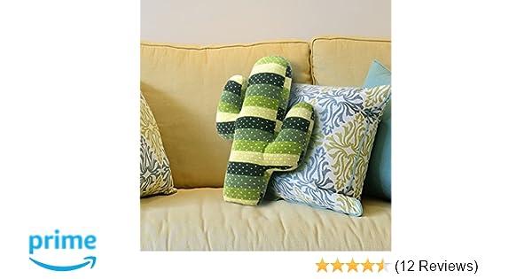EDLDECCO Home Decorative Soft Plush Cactus Throw Pillow Handmade Stuffed  Cushion For Chair Novelty For Office Wedding Festival St. Patricku0027s Day  Decoration ...