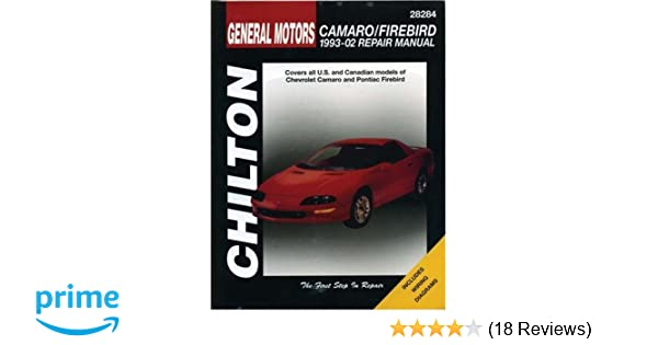 gm camaro and firebird 1993 2002 haynes repair manuals chilton rh amazon com 1997 Camaro 1996 Camaro