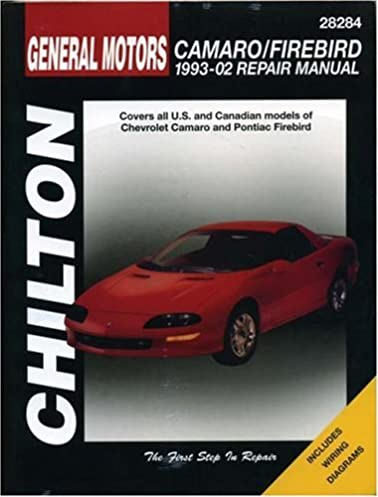 gm camaro and firebird 1993 2002 haynes repair manuals chilton rh amazon com 2000 Camaro 2000 Camaro