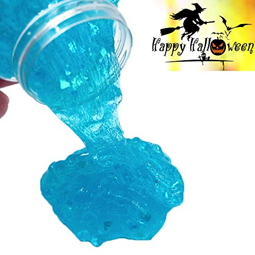 AMOFINY Baby Toys Halloween Spider Colours Mixing Cloud Slime Putty Scented Stress Kids Clay Toy]()