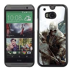 Bow Assassin OYAYO HTC One M8 //Dise?os frescos para todos los gustos! Top muesca protección para su teléfono inteligente!