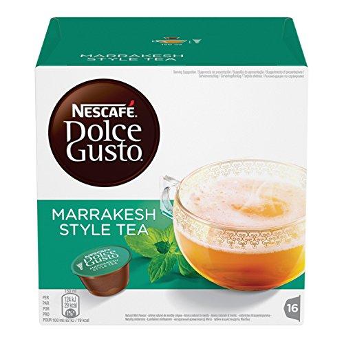 NESCAFE Dolce Gusto Marrakesh Style Tea | Capsulas de Te - 16 capsulas de cafe