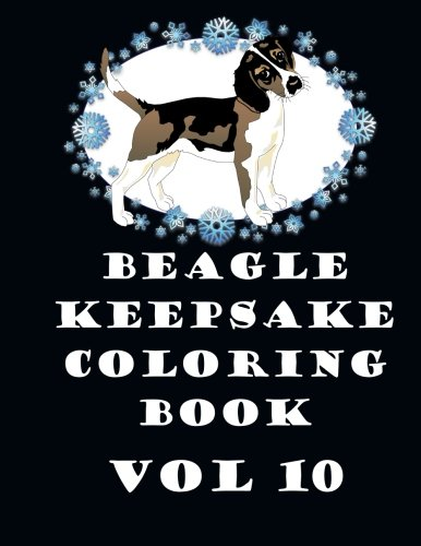 Beagle Keepsake Coloring Book Vol 10