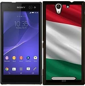 Funda para Sony Xperia C3 - La Bandera De Hungría by Carsten Reisinger