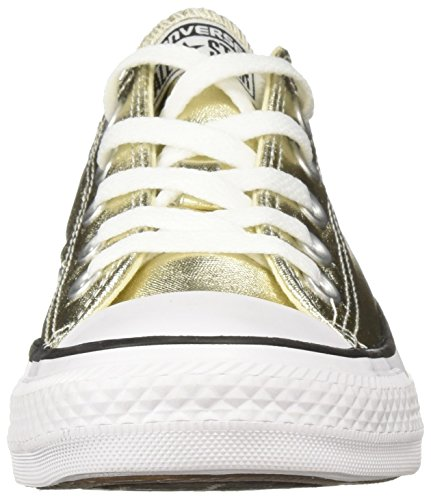 Star Converse White Black Zapatillas All Hi Gold Light unisex 5r057wx8