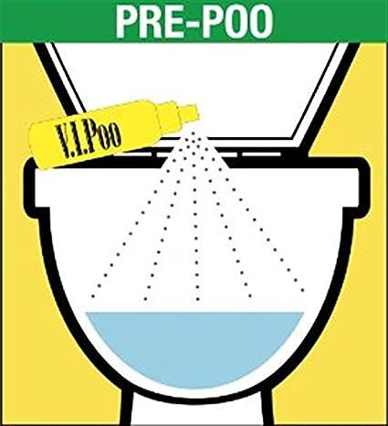 Air Wick VIPoo Rosy Starlet - Spray ambientador para inodoros, 55 ml