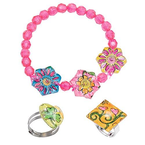 Creativity for Kids Opti-Art Gemstone Jewelry