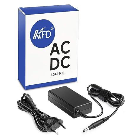 KFD 65W Adaptador Cargador Portátil para HP Pavilion 15-b000es 15-b010es HP Envy 4, ...