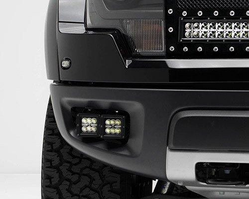 ZROADZ Z325671-KIT Black Front Bumper LED Light Bar KIT 2010-2014 FORD F150-RAPTOR