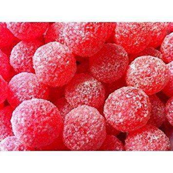 Barnett's Mega Sour Cherry Bon Bons 1lb (454g) by Barnett's