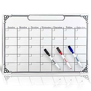 Amazon.com : Smart Planner's RIGID Magnetic Calendar for