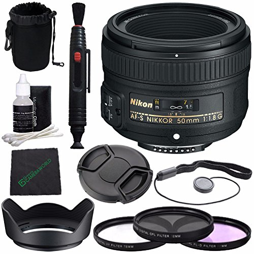 Nikon AF S NIKKOR Filter Cleaning Bundle
