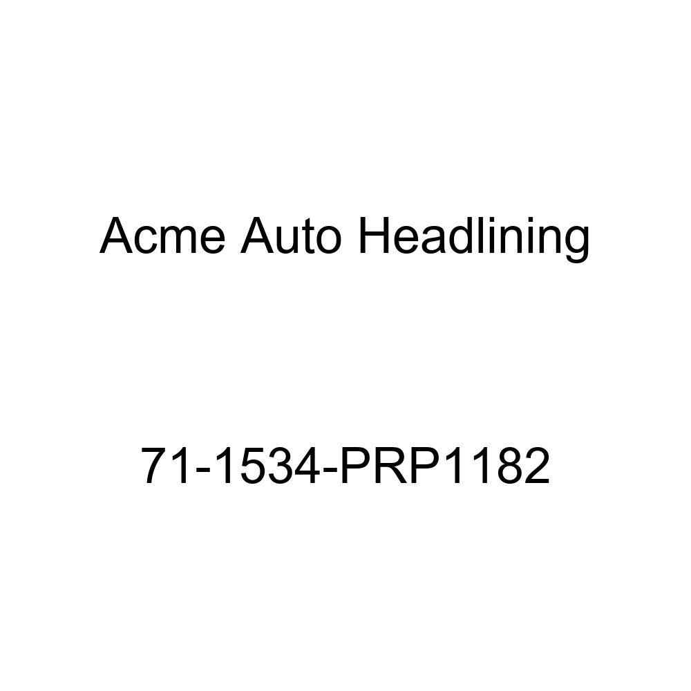 Acme Auto Headlining 71-1534-PRP1182 Blue Replacement Headliner 6 Bow 1971 Pontiac Ventura 4 Door Coupe