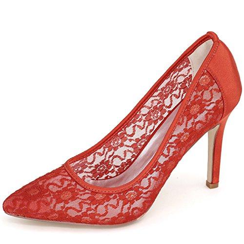 Acentuados Del Las Zapatos Mujeres Boda Gatito De Elobaby gxOPZqwHz