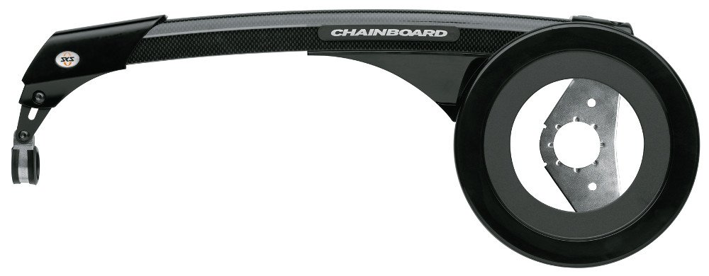 SKS Chainboard, 199mm/46-48T, Black