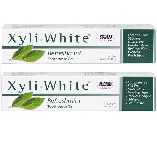 Now Foods: Xyliwhite Refreshmint Toothpaste Gel, 6.4 oz 2 ()