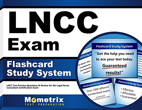 LNCC Exam Flashcard Study System: LNCC Test Practice Questions & Review for the Legal Nurse Consultant Certification Exam (Cards)