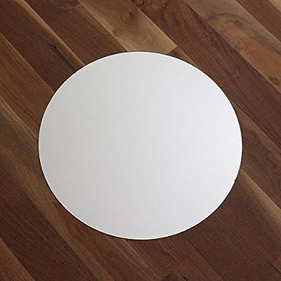 """Round Centerpiece Table Mirror - 14"""" Diameter"""