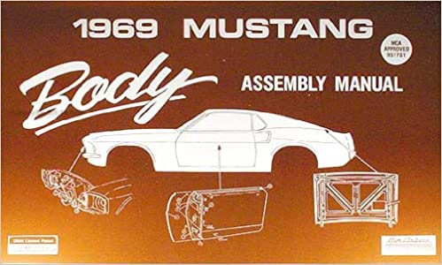1969 Mustang Part and Body Illustrations CD-ROM
