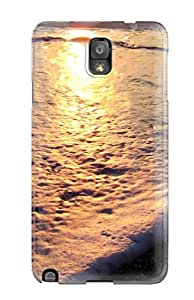 Lovers Gifts 6731256K65841866 Defender Case For Galaxy Note 3, Beach Pattern