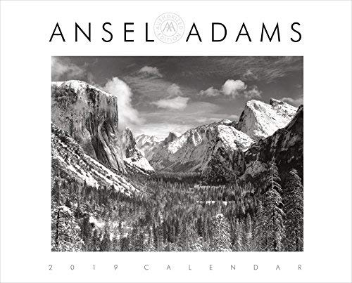 2019 Ansel Adams Deluxe WALL CALENDAR Authorized Edition ()