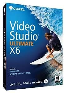 Corel VideoStudio Pro X6 Ultimate - Software De Video, Inglés, Mini-Box