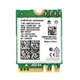 Intel Dual Band Wireless AX200NGW - WiFi 6 AX200 WiFi Adapter - 2.4GHz 574Mbps/5GHz 2.4Gbps - 802.11AX Network Card - Bluetooth5.0 Wireless Network Adapter for Windows 10 64Bit/Google Chrome OS/Linux