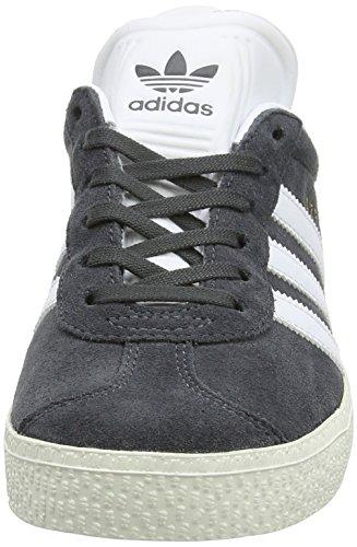 Grey Schwarzgrau Schuhe Kinder Dgh Unisex für Solid Gold Fitnessschuhe Weiß Gazelle Metall C adidas YqwzZq