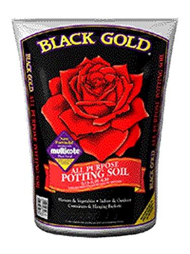 Black Gold All Purpose Potting Soil 0.13-0.05-0.10 2cuft (Black Gold Soil 2 Cubic Feet)