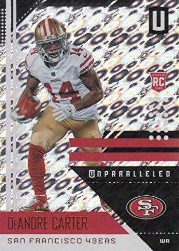 2018 Panini Unparalleled Football Flight #175 DeAndre Carter San Francisco 49ers