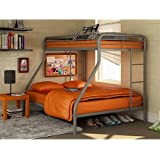 Amazon Com Signature Design By Ashley Dinsmore Twin Full Bunk Bed