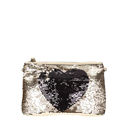 Borsa Pochette Illusion LOVE Gold Stamp Love