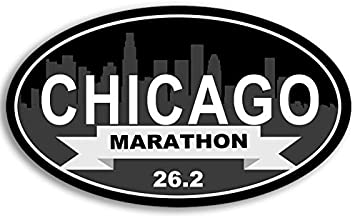 American Vinyl Oval Marine Corps Marathon 26.2 Sticker USMC dc Run Running Ran Race