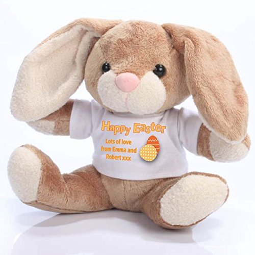 Happy easter personalised bunny rabbit alternative easter gifts happy easter personalised bunny rabbit alternative easter gifts negle Image collections