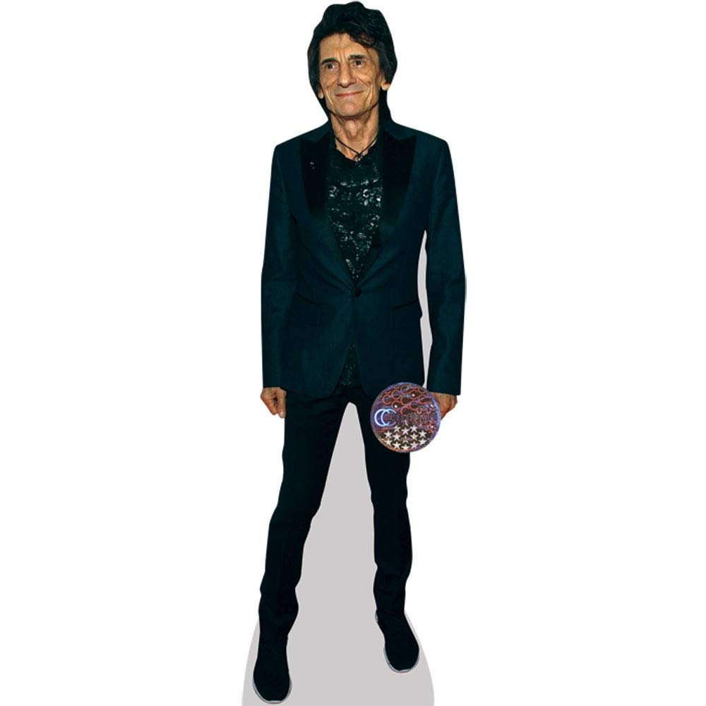 Ronnie Wood (Dark Outfit) Life Size Cutout